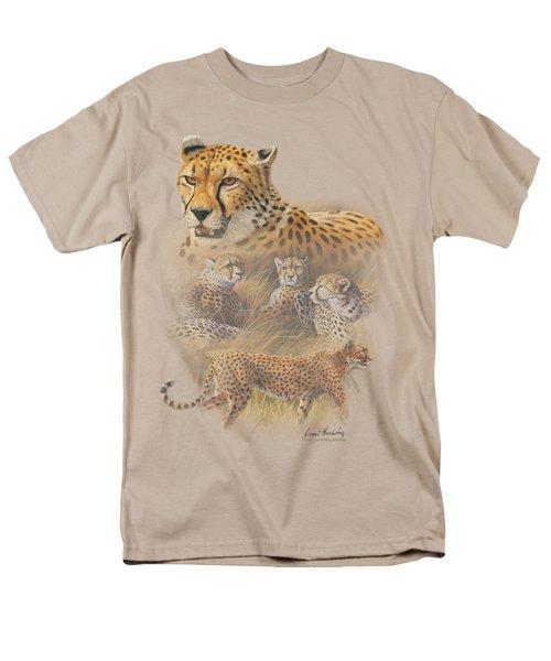 Wildlife - Cheetahs Men's T-Shirt  (Regular Fit) by Brand A