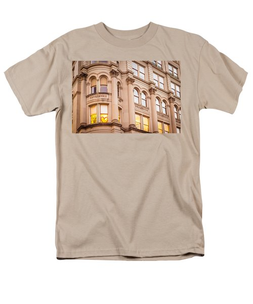 Window To My Heart Men's T-Shirt  (Regular Fit) by Melinda Ledsome