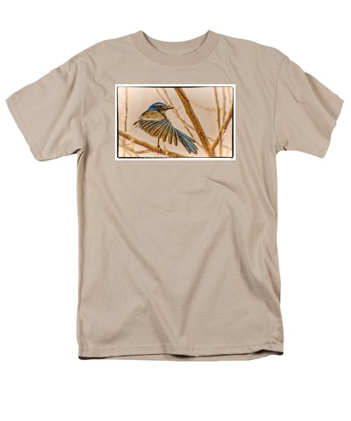 Men's T-Shirt  (Regular Fit) featuring the photograph Winging It by Janis Knight