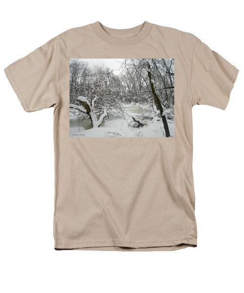 Winter Forest Series 3 Men's T-Shirt  (Regular Fit) by Verana Stark