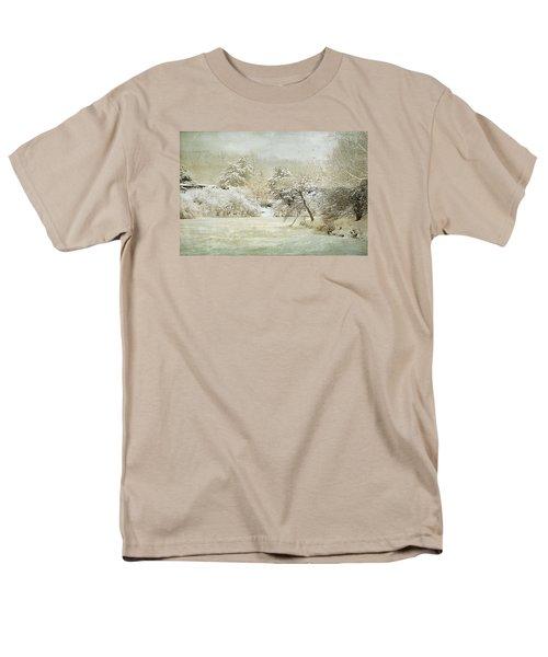 Men's T-Shirt  (Regular Fit) featuring the photograph Winter Silence by Julie Palencia