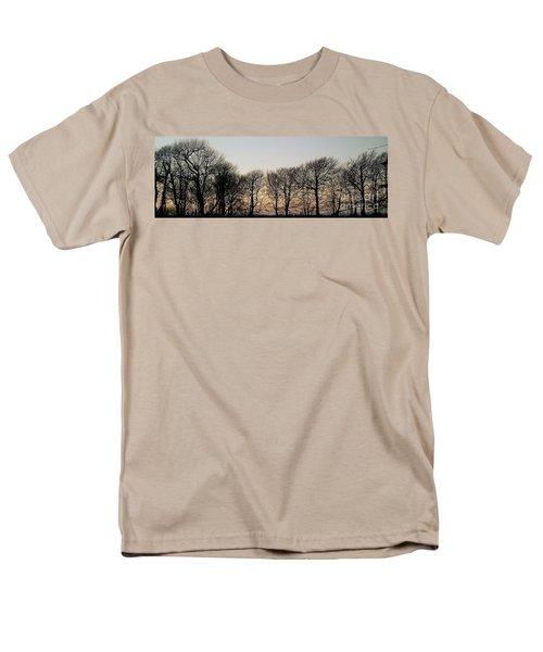 Winter Skyline Men's T-Shirt  (Regular Fit) by Richard Brookes