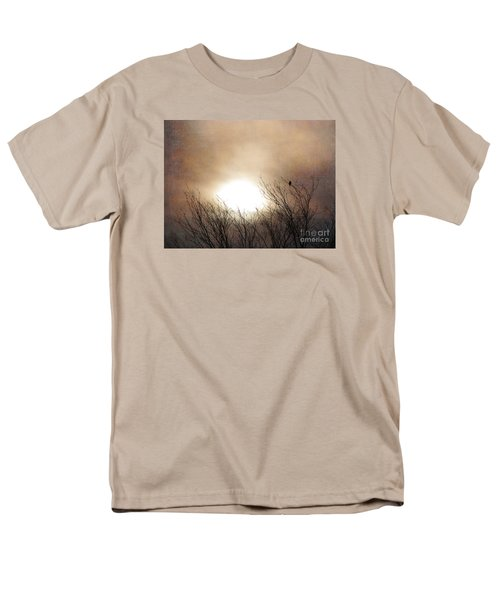 Winter Solstice Men's T-Shirt  (Regular Fit) by Roselynne Broussard