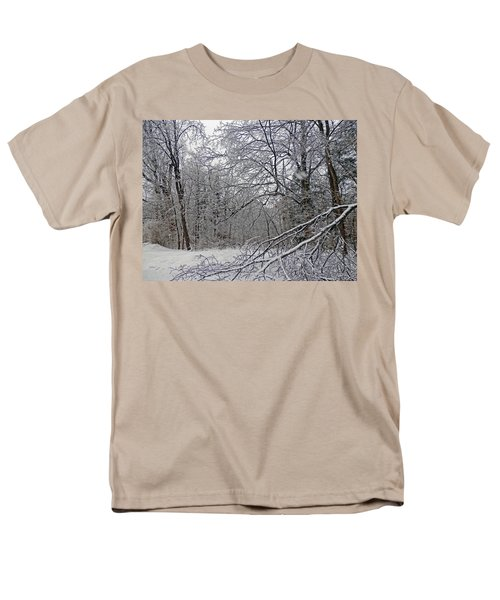 Winter Wonderland Men's T-Shirt  (Regular Fit) by Pema Hou