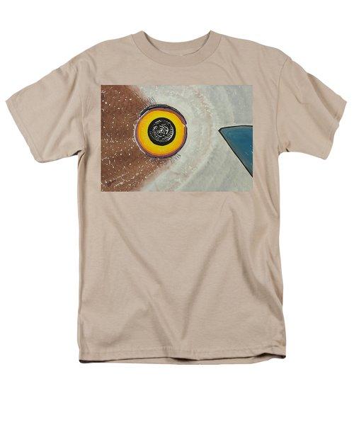 Wise Owl Original Painting Men's T-Shirt  (Regular Fit) by Sol Luckman