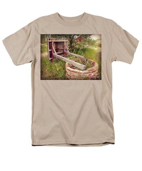 Woeful Well Men's T-Shirt  (Regular Fit) by Meghan at FireBonnet Art