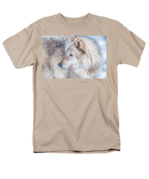 Men's T-Shirt  (Regular Fit) featuring the photograph Wolf In Disguise by Bianca Nadeau