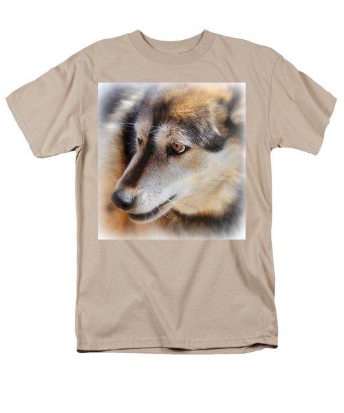 Wolf Spirit Men's T-Shirt  (Regular Fit) by Diane Alexander