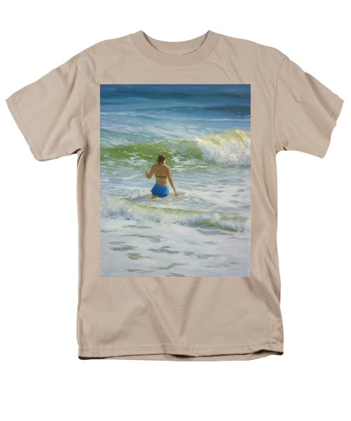 Woman In The Waves Men's T-Shirt  (Regular Fit)