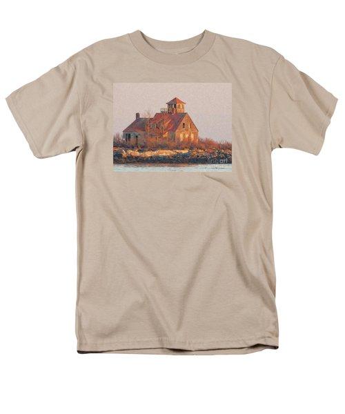 Wood Island Men's T-Shirt  (Regular Fit) by Marcia Lee Jones