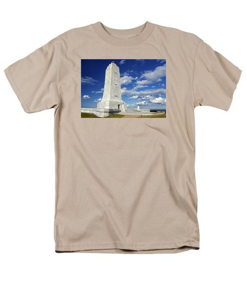 Wright Brothers Memorial D Men's T-Shirt  (Regular Fit) by Greg Reed