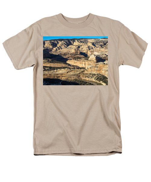 Yampa River Canyon In Dinosaur National Monument Men's T-Shirt  (Regular Fit) by Nadja Rider