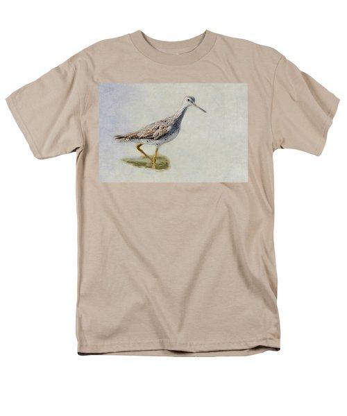 Yellowlegs Men's T-Shirt  (Regular Fit) by Bill Wakeley