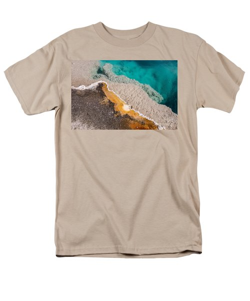 Yellowstone Abstract Men's T-Shirt  (Regular Fit) by Sue Smith