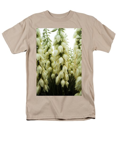 Men's T-Shirt  (Regular Fit) featuring the photograph Yucca Forest by Steven Milner