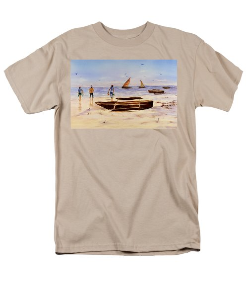 Zanzibar Forzani Beach Men's T-Shirt  (Regular Fit) by Sher Nasser