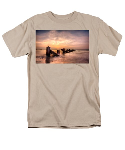 Men's T-Shirt  (Regular Fit) featuring the photograph  Abermaw Sunset by Beverly Cash