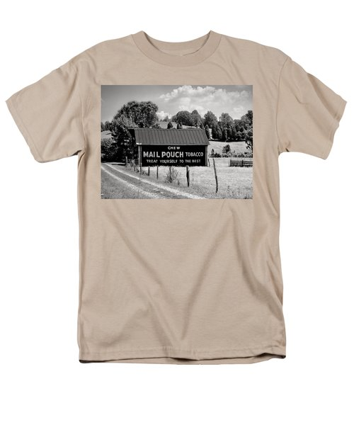 Men's T-Shirt  (Regular Fit) featuring the photograph Mail Pouch Barn by Mary Almond