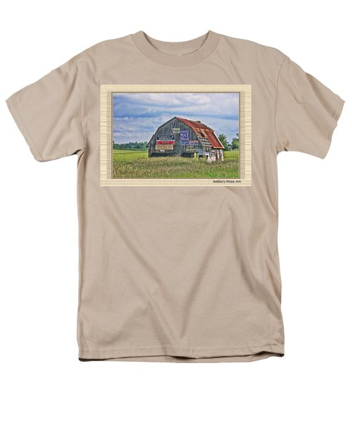 Men's T-Shirt  (Regular Fit) featuring the photograph Vote For Me II by Debbie Portwood