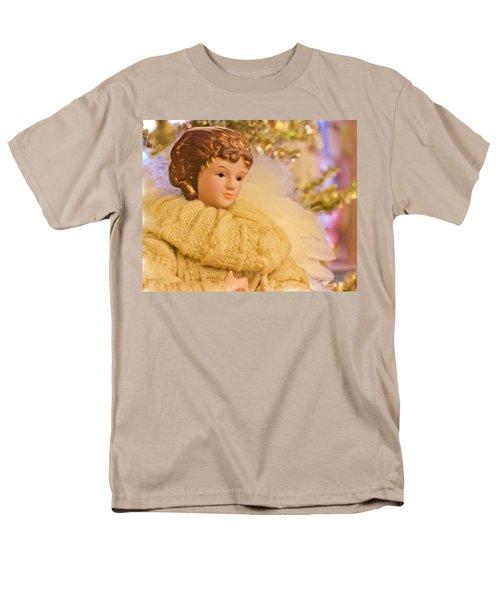 A Christmas Angel Men's T-Shirt  (Regular Fit) by Heidi Smith