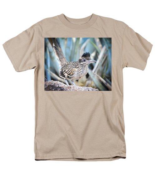 A Juvenile Greater Roadrunner  Men's T-Shirt  (Regular Fit) by Saija  Lehtonen