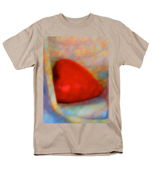 Men's T-Shirt  (Regular Fit) featuring the digital art Abundant Love by Richard Laeton