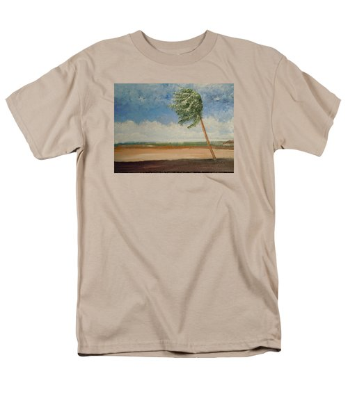 Alone In Paradise  Men's T-Shirt  (Regular Fit) by Dan Whittemore