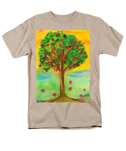 Apple Tree Men's T-Shirt  (Regular Fit) by Kelly Turner