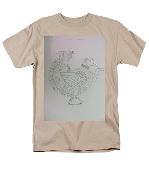 Men's T-Shirt  (Regular Fit) featuring the painting Artistic Teapot by Sonali Gangane