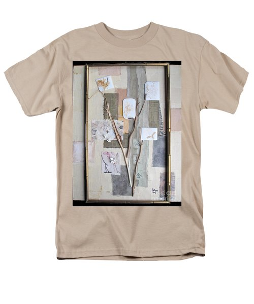 Men's T-Shirt  (Regular Fit) featuring the mixed media Autumn by Sandy McIntire