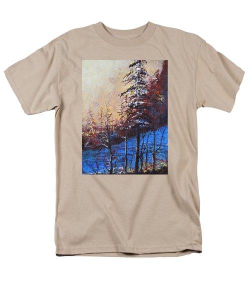 Autumn Silence Men's T-Shirt  (Regular Fit) by Dan Whittemore