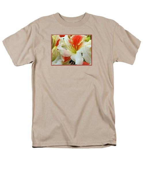 Men's T-Shirt  (Regular Fit) featuring the photograph Azaleodendron Glory Of Littleworth by Chris Anderson