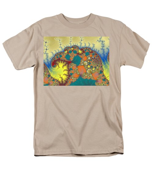 Baby Elephant Men's T-Shirt  (Regular Fit) by Mark Greenberg