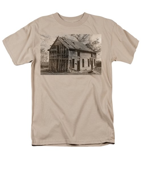 Battered And Leaning Men's T-Shirt  (Regular Fit) by Betty Northcutt