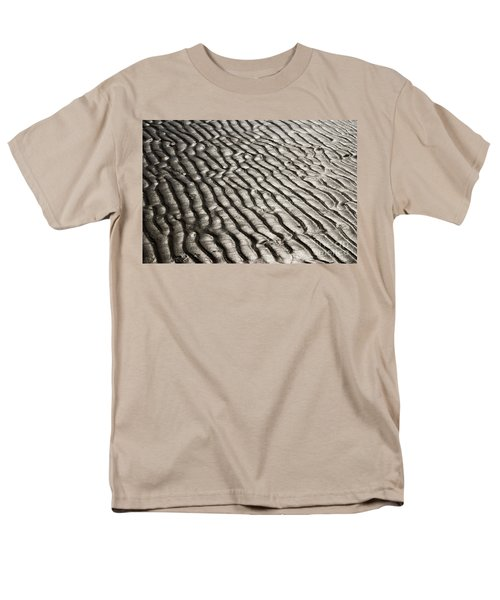 Men's T-Shirt  (Regular Fit) featuring the photograph Beach Sands by Fotosas Photography