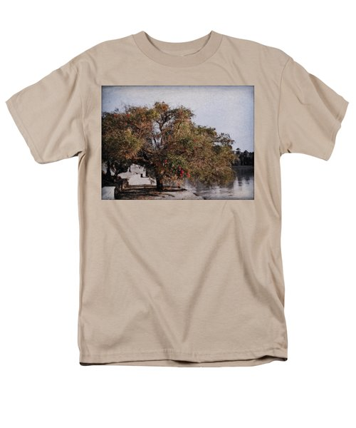 Beauty On The Path Men's T-Shirt  (Regular Fit) by Diane Dugas