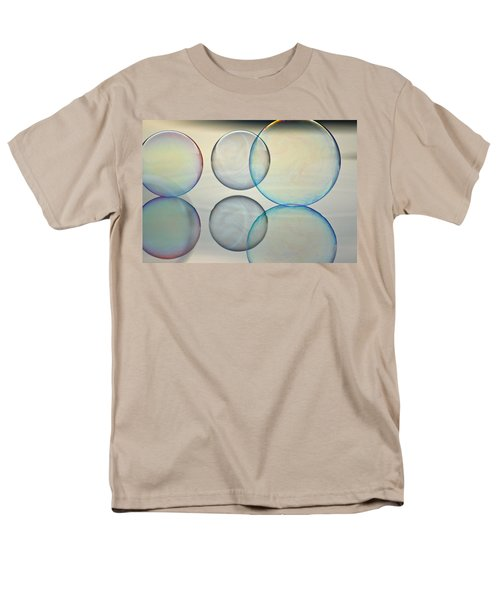 Bubbles On The Water Men's T-Shirt  (Regular Fit) by Cathie Douglas