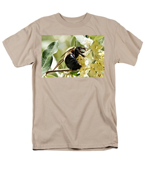 Busy As A Bee Men's T-Shirt  (Regular Fit) by Joe Faherty