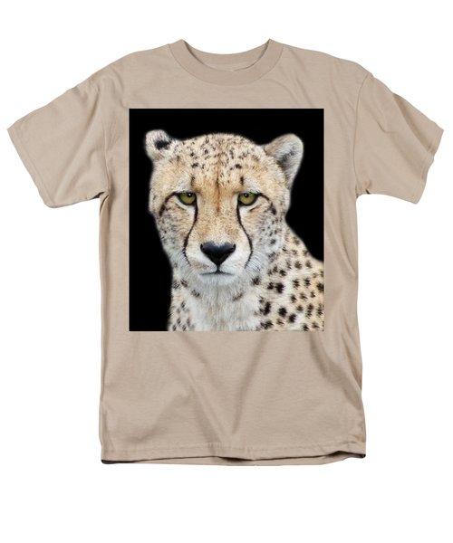 Men's T-Shirt  (Regular Fit) featuring the photograph Cheetah by Lynn Bolt