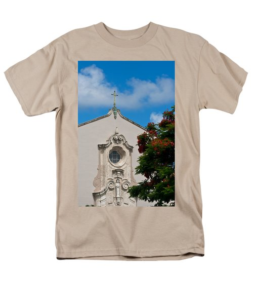 Men's T-Shirt  (Regular Fit) featuring the photograph Church Of The Little Flower by Ed Gleichman