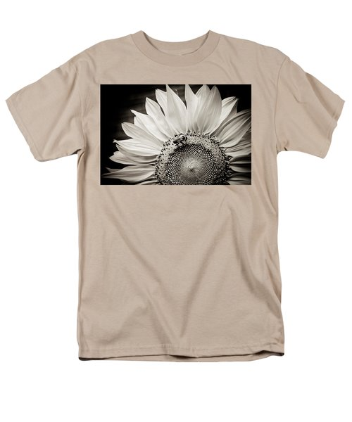 Men's T-Shirt  (Regular Fit) featuring the photograph Classic Sunflower by Sara Frank
