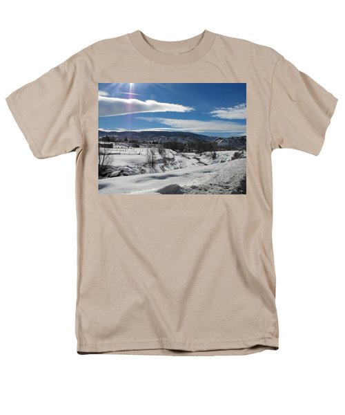 Cold Sun Men's T-Shirt  (Regular Fit) by Adam Cornelison