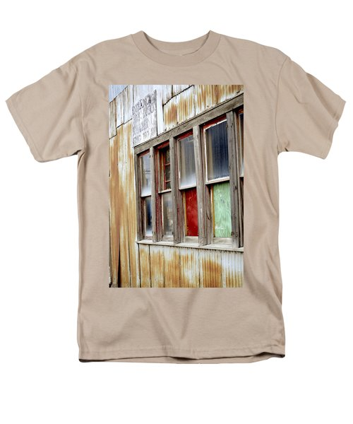 Men's T-Shirt  (Regular Fit) featuring the photograph Colorful Windows by Fran Riley