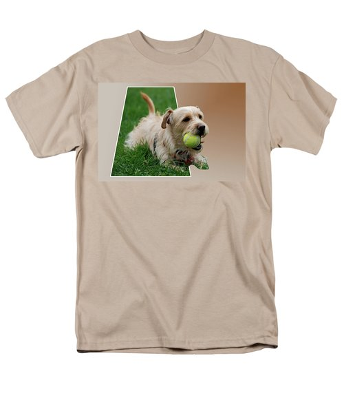 Men's T-Shirt  (Regular Fit) featuring the photograph Cruz My Ball by Thomas Woolworth