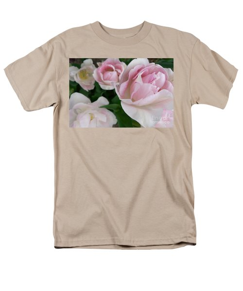 Men's T-Shirt  (Regular Fit) featuring the photograph Double Pink by Laurel Best