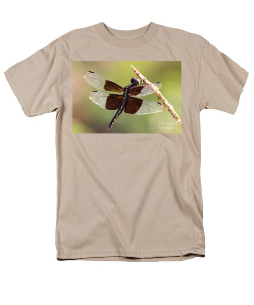 Men's T-Shirt  (Regular Fit) featuring the photograph Dragonfly Closeup by Kathy  White