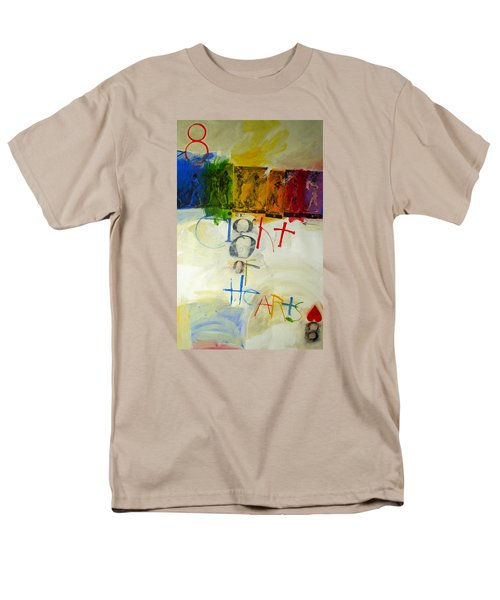 Eight Of Hearts 34-52 Men's T-Shirt  (Regular Fit) by Cliff Spohn