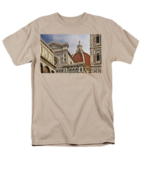 Men's T-Shirt  (Regular Fit) featuring the photograph Florence Duomo by Steven Sparks