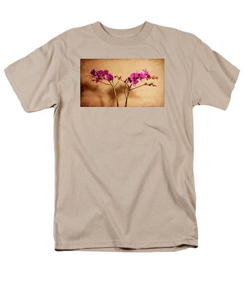 Men's T-Shirt  (Regular Fit) featuring the photograph Flower Letter by Milena Ilieva