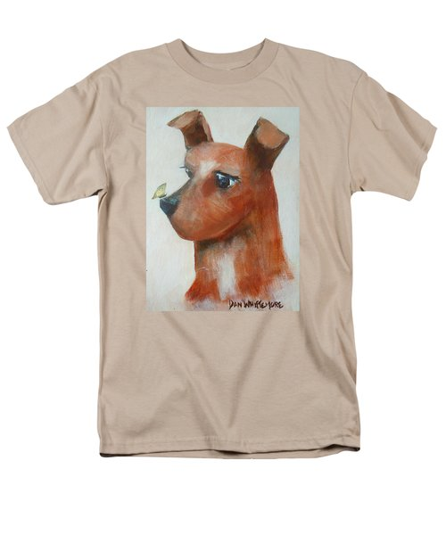 Men's T-Shirt  (Regular Fit) featuring the painting Friends Are Friends by Dan Whittemore